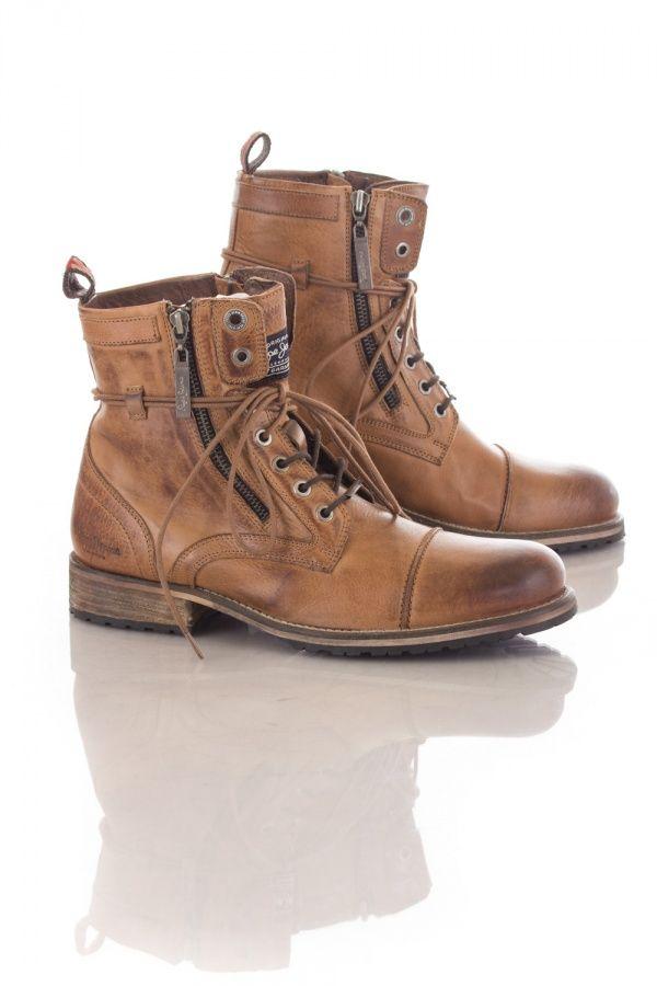 Mode Pour des hommes cuir bottes SmF5kNtte