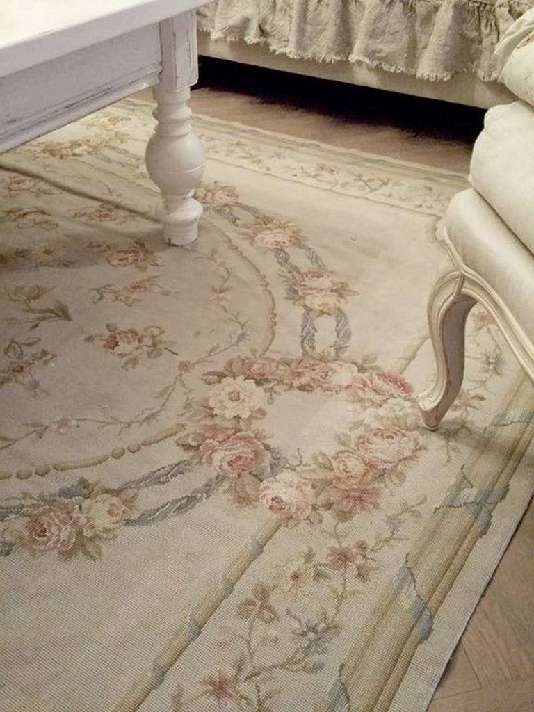 25 Cozy Shabby Chic Carpet Ideas With