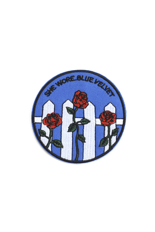 Blue Velvet Patch