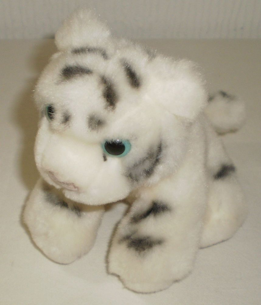 TY Beanie Baby - BLIZZARD the White Tiger (9 inch . 51e372c5cd93