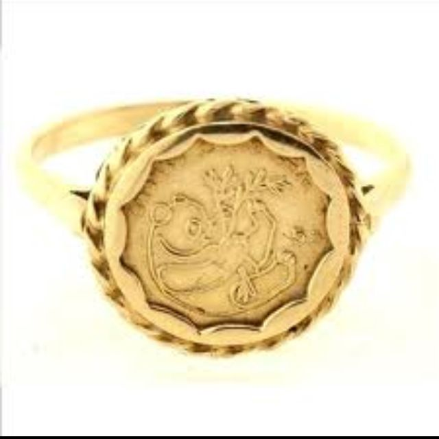 Pin By Ingrid On Brings Me Back Panda Ring My Childhood Memories Coin Ring