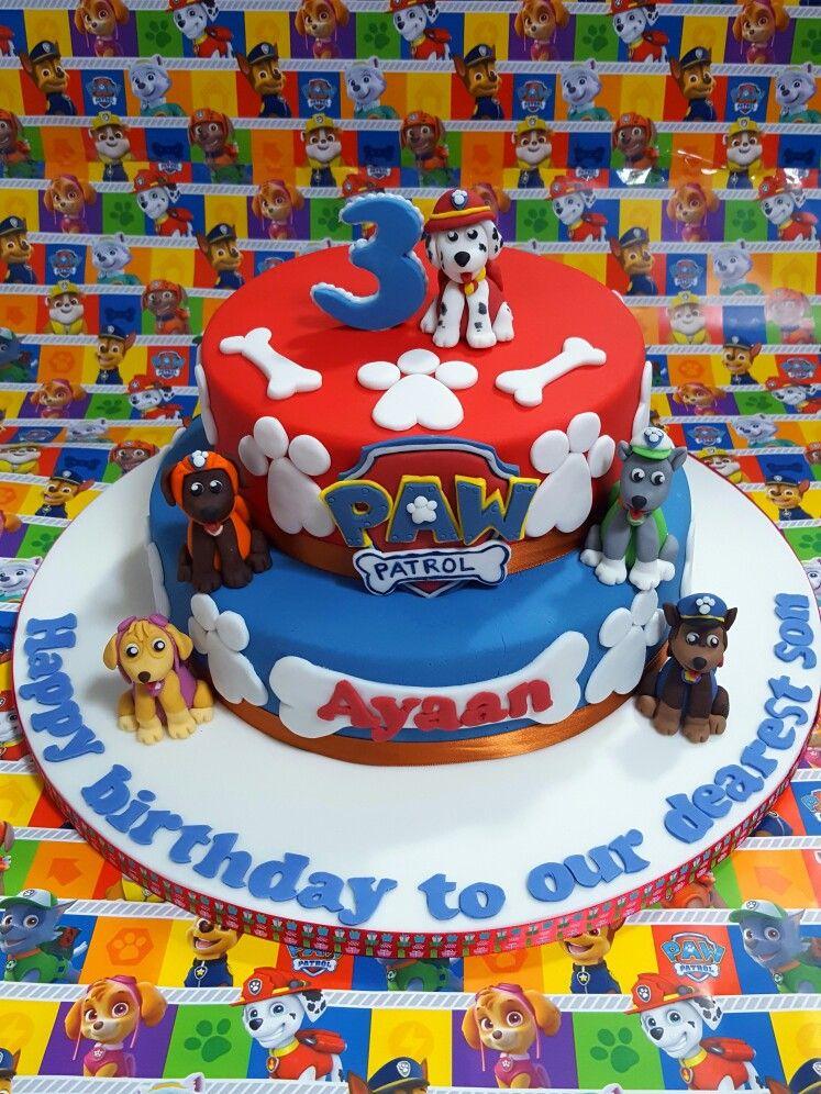 pineshwary on noveltycakes2007  paw patrol birthday
