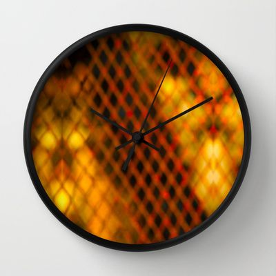 Ambient Background #1 Wall Clock