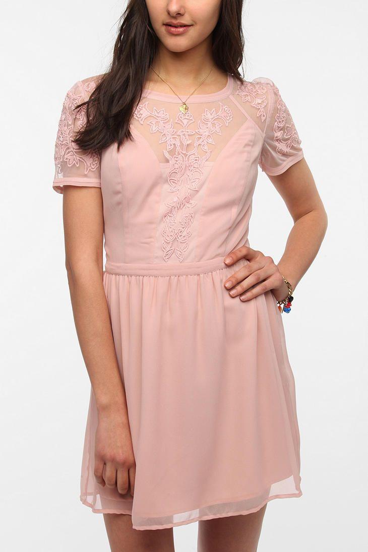 Kimchi Blue Emma Crepe Dress | Style | Pinterest