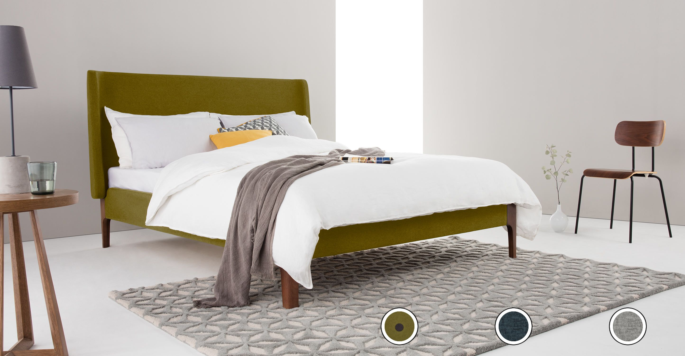Roscoe Super King Size Bed Olive Green Super King Size Bed King Size Bed Superking Bed
