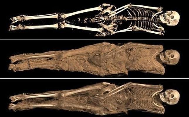 Misterio y Ciencia Hoy: El curioso e íntimo tatuaje de una momia de hace 1...