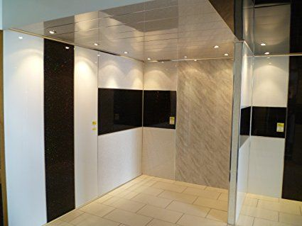 5mm white wall panel & ceiling panel hi-gloss .tongue and