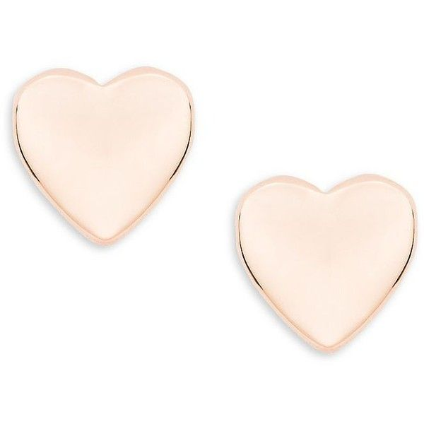 cd65aa8b3 Ted Baker London Harly Tiny Heart Stud Earrings ($35) ❤ liked on Polyvore  featuring