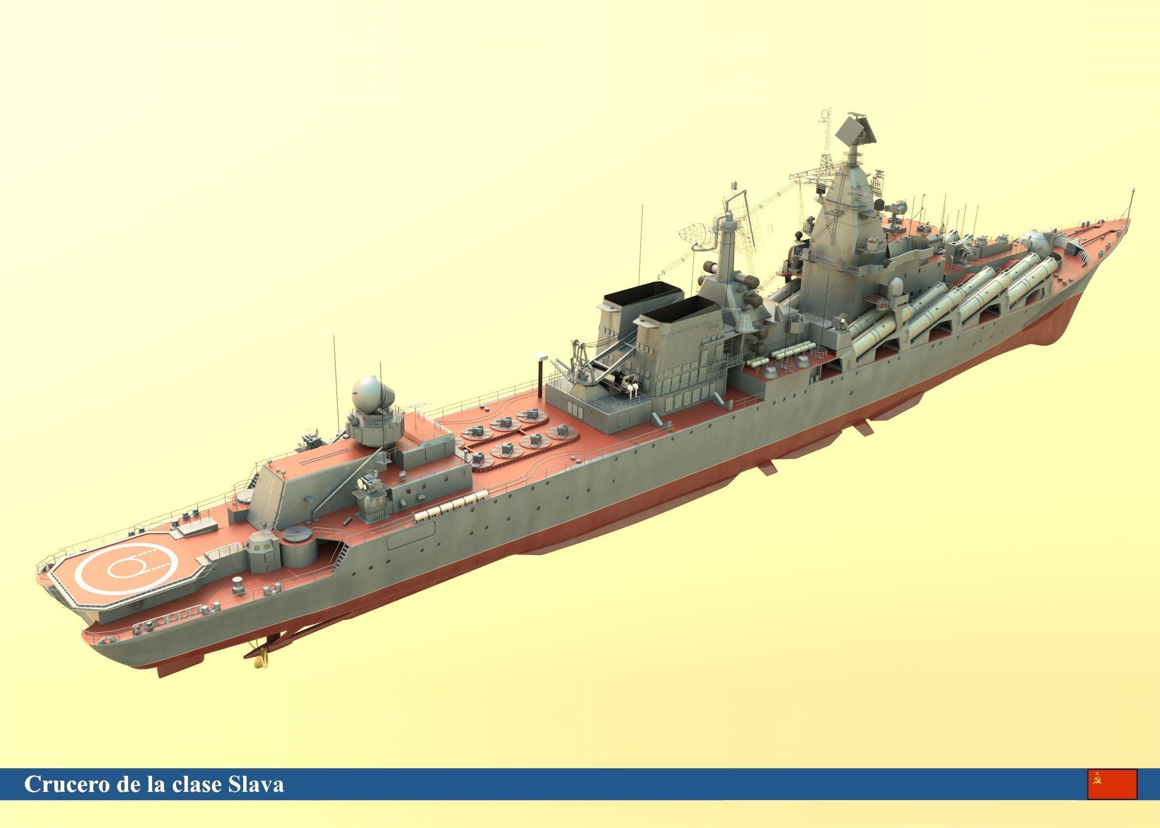Slava+Cruiser Slava class cruiser