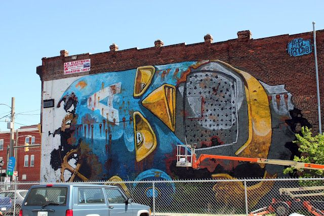 Pixel Pancho New Mural In Richmond, USA (Part IV)