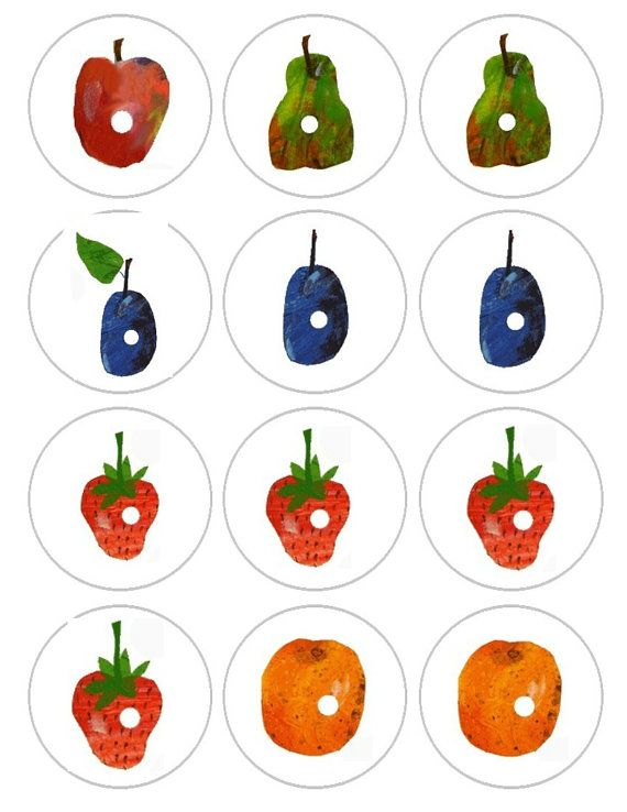 one apple two pears 3 plums 4 strawberries and 5 oranges edible rh pinterest com Caterpillar Clip Art Umbrella Clip Art
