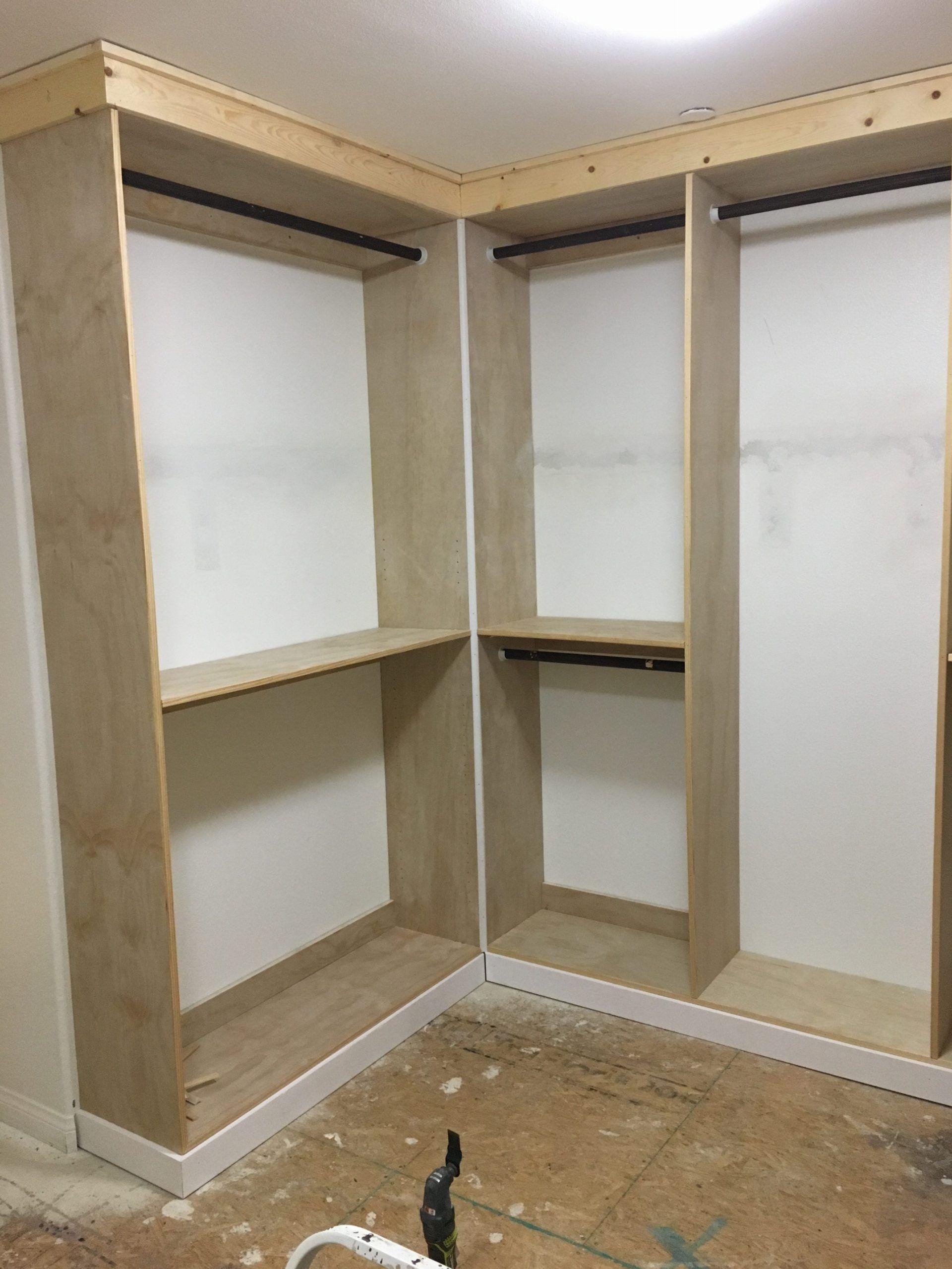 Diy Custom Master Closet Part 3 The Details Build A Closet Closet Remodel Diy Closet Renovation