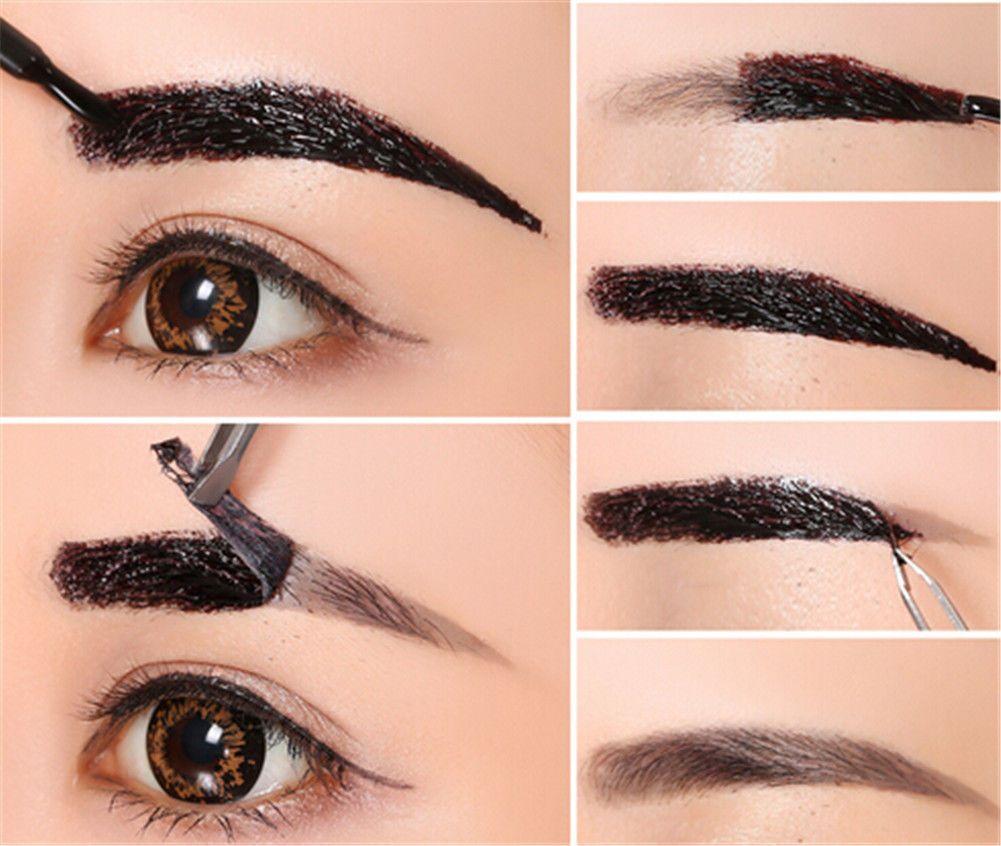 Pro Beauty Peel Off Waterproof Eyebrow Gel Liner Tint Matte Long