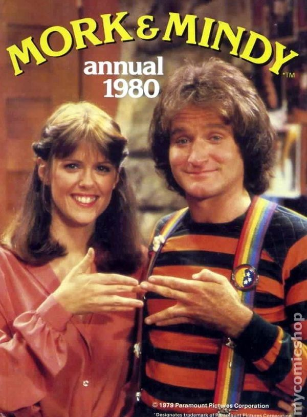 Mork and Mindy. Robin Williams in his young days.