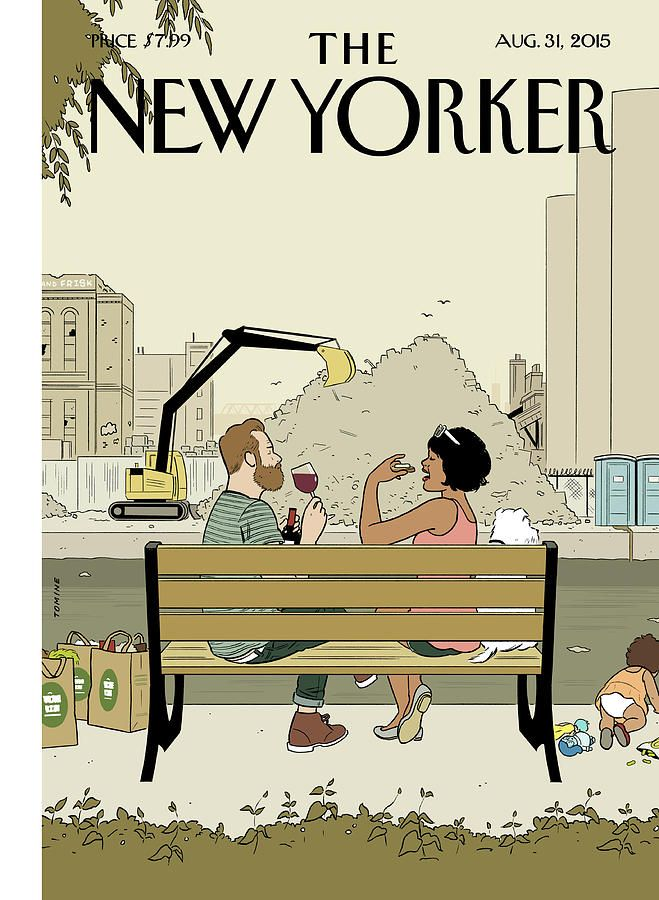 Gowanus Canal by Adrian Tomine