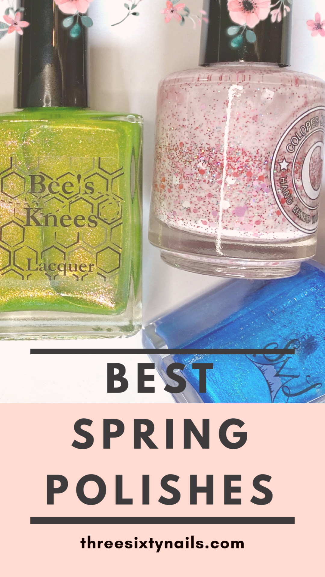 'Tis the season for colorful polish! In this video, I'll be sharing six indie-brand favorites of mine. Check it out for some spring-y recommendations! 🌸🌷 #springnails #springnailpolish #nailpolish #nailart #nailblogger #springstyle