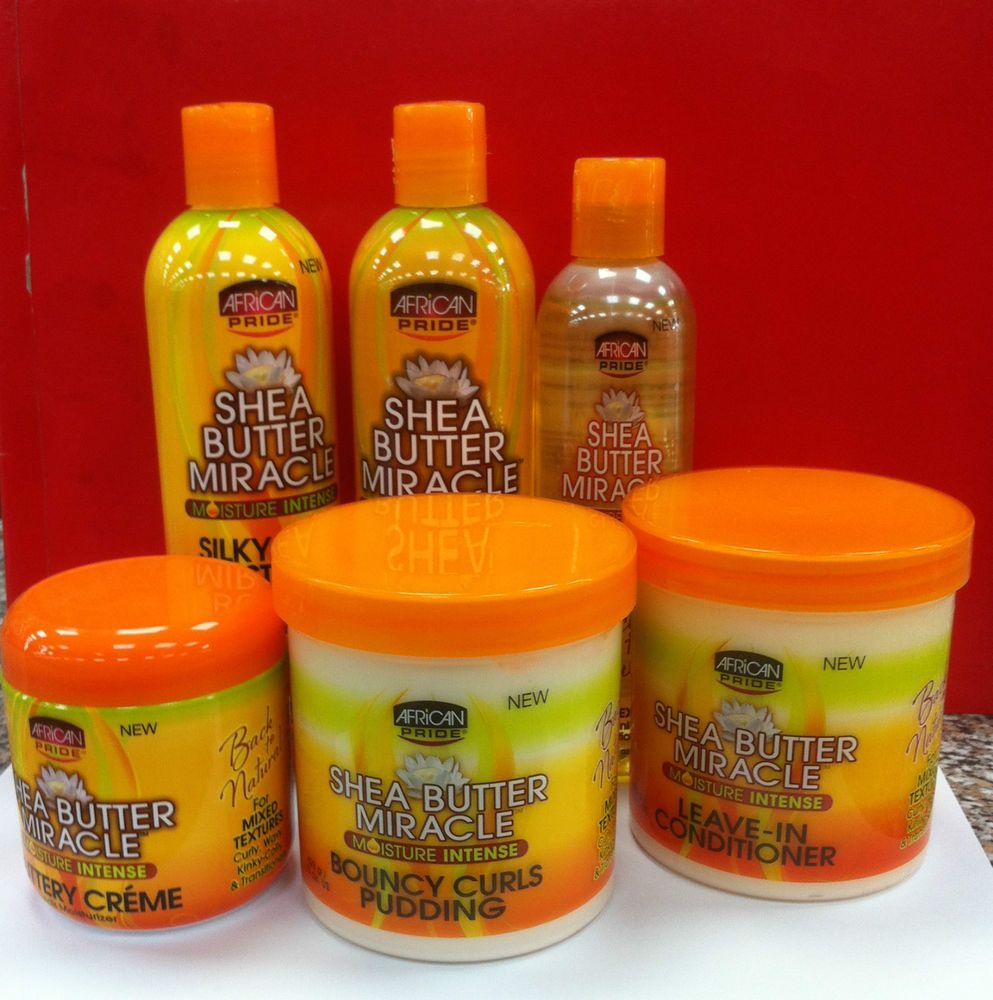 Details about AFRICAN PRIDE SHEA BUTTER MIRACLE BACK TO
