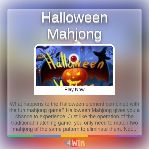 Halloween Mahjong Game Free Online Games in 2020