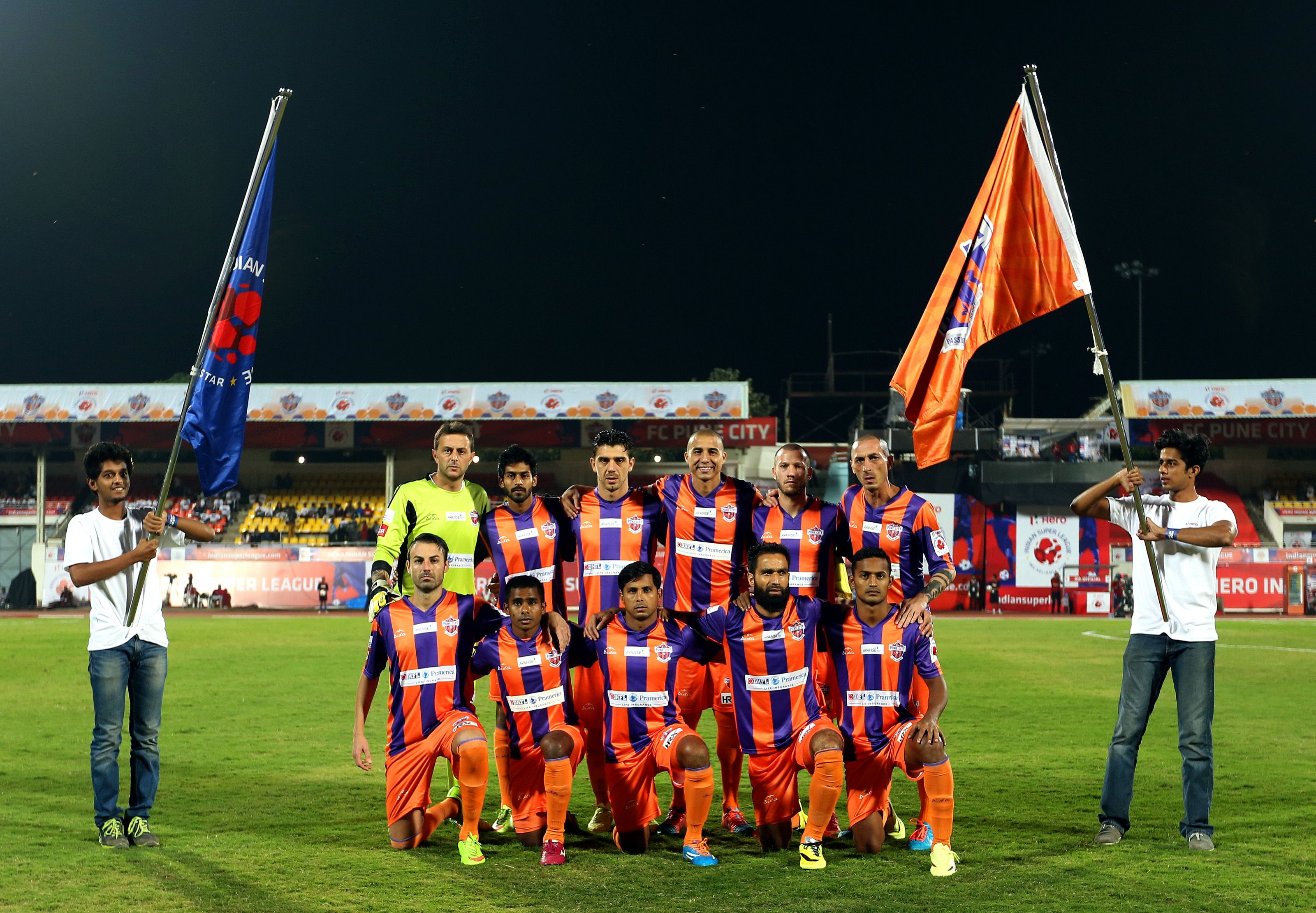 FC Pune City Team Kit sponsored by DIDA Sports