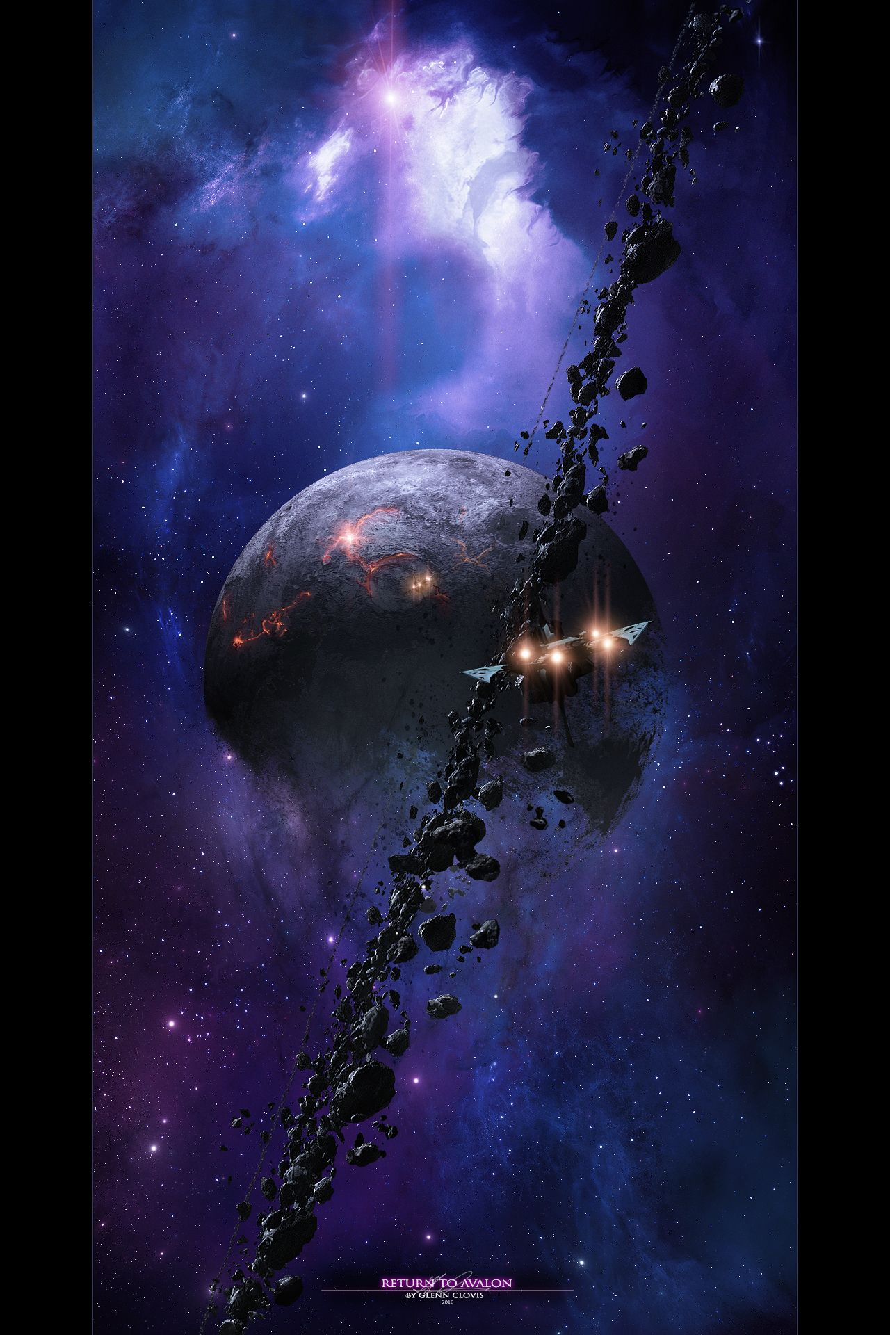 Return To Avalon Glenn Clovis Other Worlds Pinterest