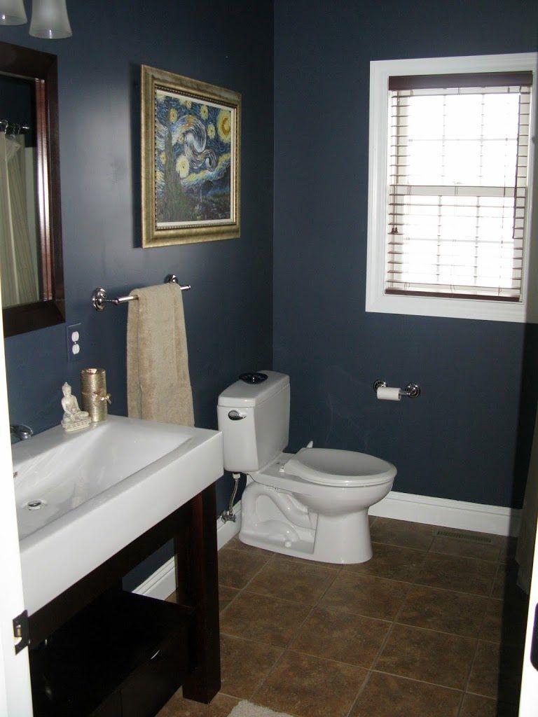 Hale Navy Bathroom Vanity Blue Bathroom Blue Bathroom Paint