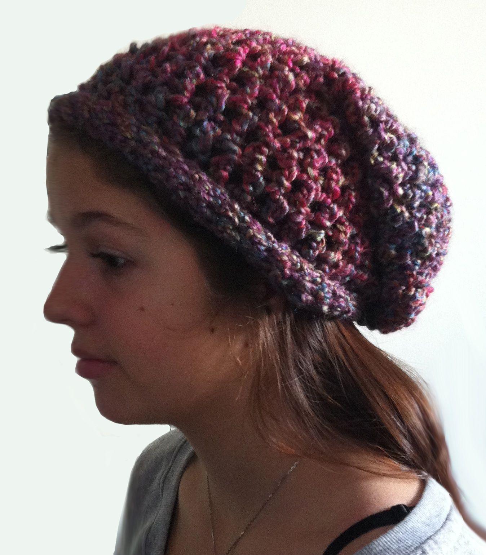 The Teens Crochet Slouchy Hat - Dearest Debi Patterns | Crochet Fun ...