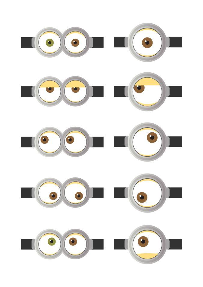 Olhos Dos Minions Canal Fora Da Caixa Olhos Dos Minions