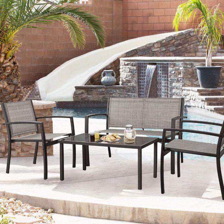 devoko 4 piece patio furniture