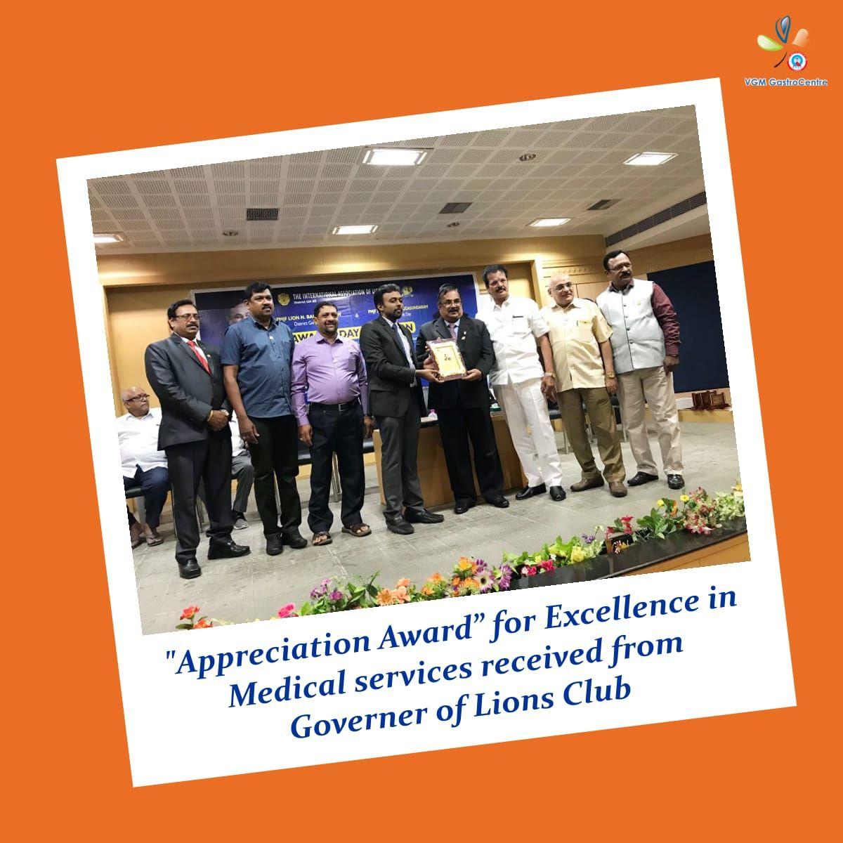 VGM Gastro Centre & MultiSpeciality Hospital heartily