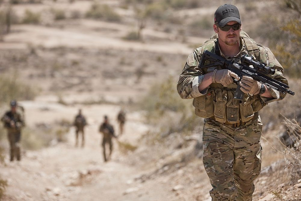 Chris Kyle's American Sniper Directed by Steven Spielberg | T