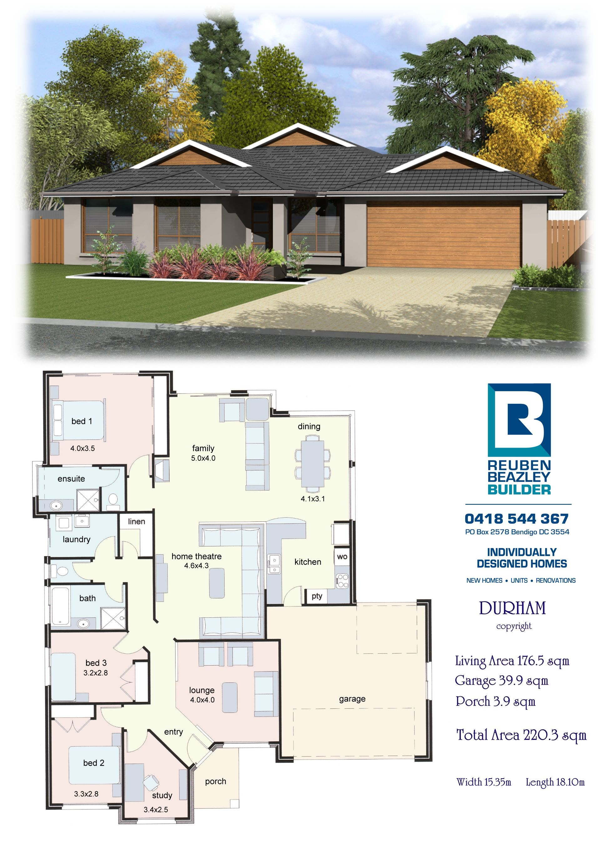 The Durham Lifestyle Series Home Design Floor Plans