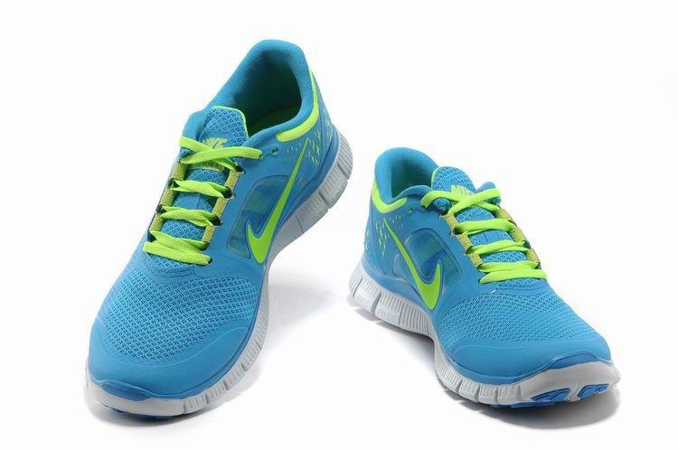 plus récent 99e04 1b7a6 Mujer Nike Free Run 3 Azul Verde | Mujer Nike Free Run 3 ...