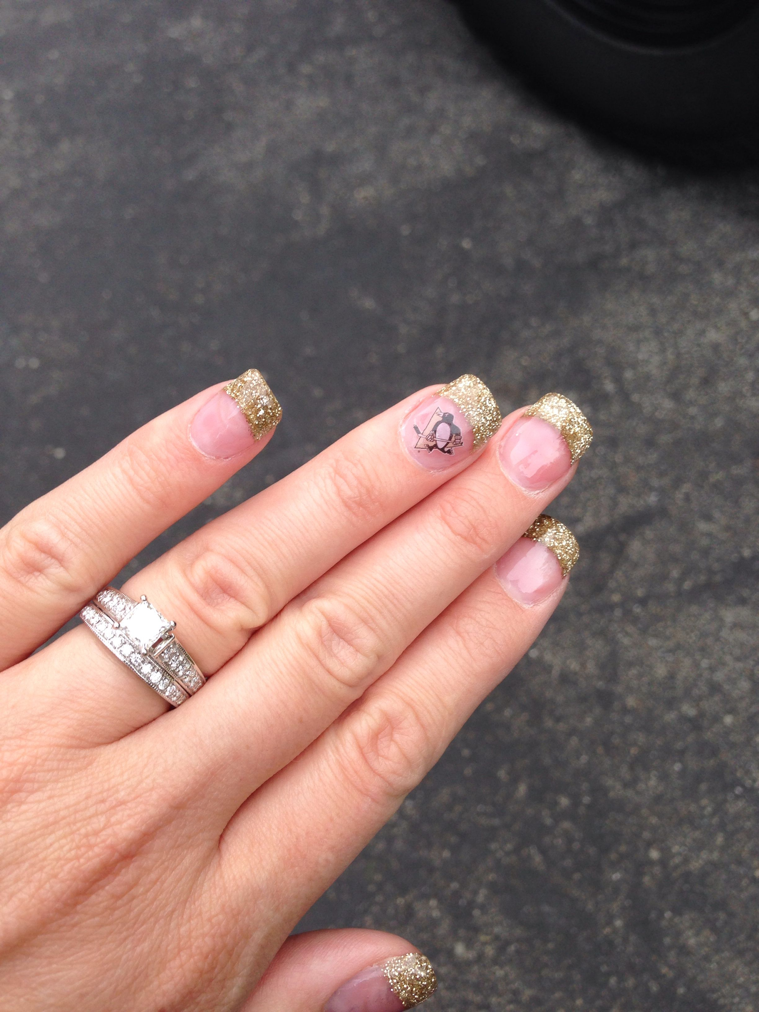 Are you ready?!? Pittsburgh Penguins nails! # ...