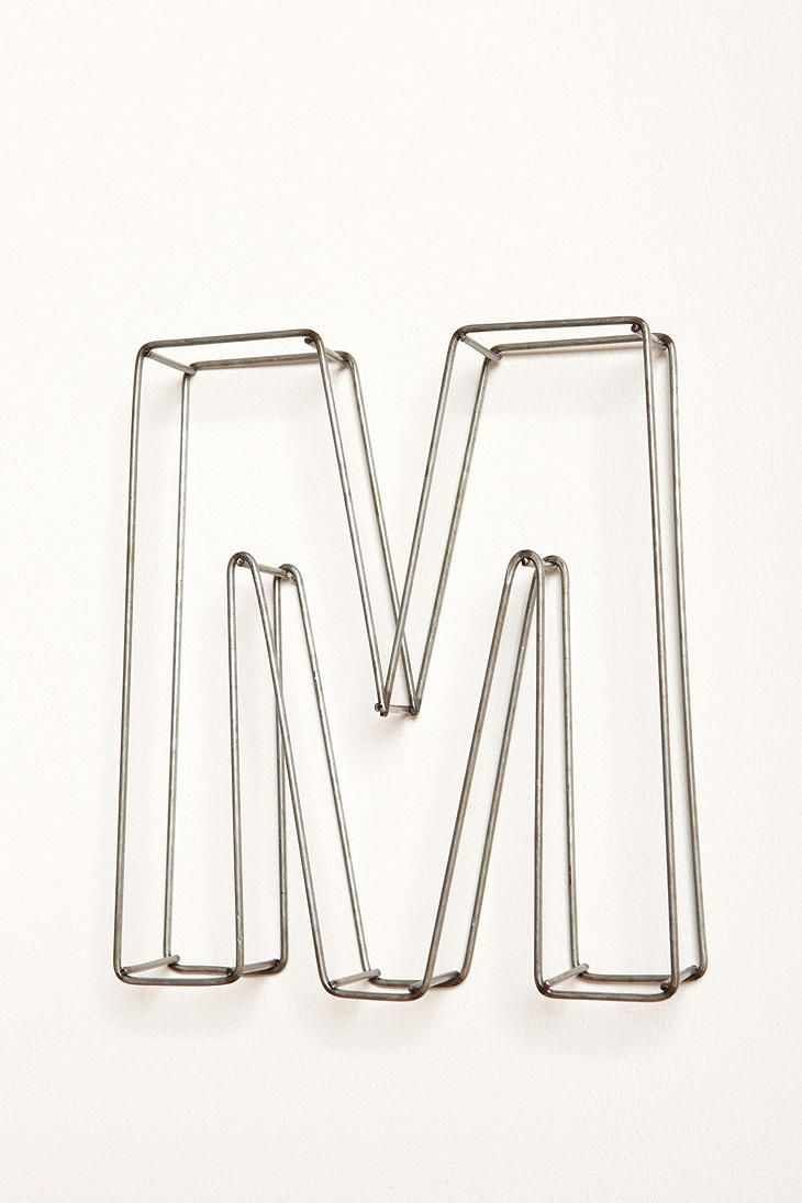 Wire Frame 10 Letters