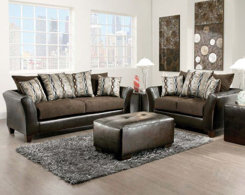 Best The Jefferson Chocolate Sofa And Loveseat Set Is This Week 400 x 300