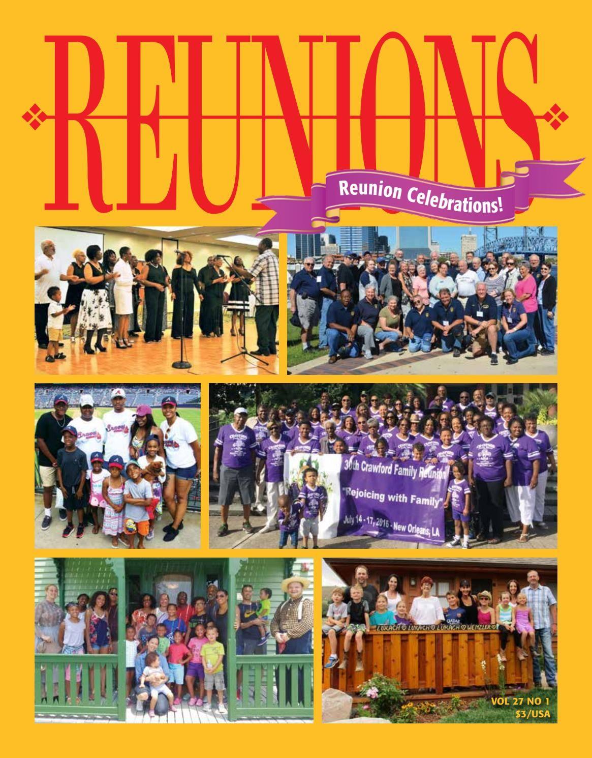 Reunions Magazine Volume 27 Number 1 February