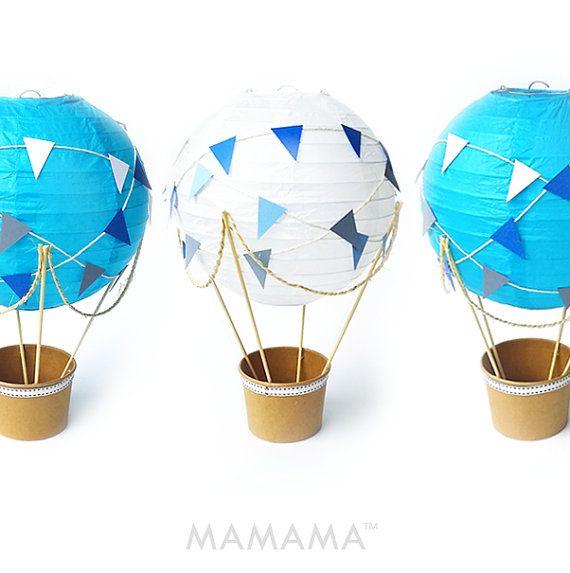 Caprichoso aire caliente globo decoración DIY kit por mamamaonline ...
