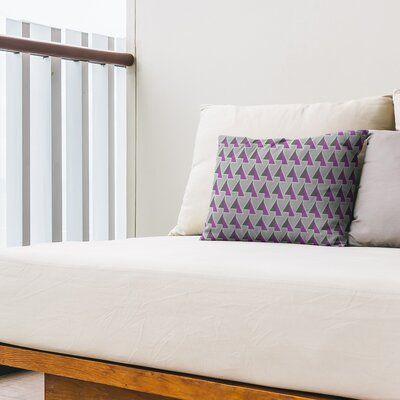 East Urban Home Shifted Arrows Indoor Outdoor Lumbar Pillow In 2020 Blue Pillows Living Room Sofa Lumbar Pillow