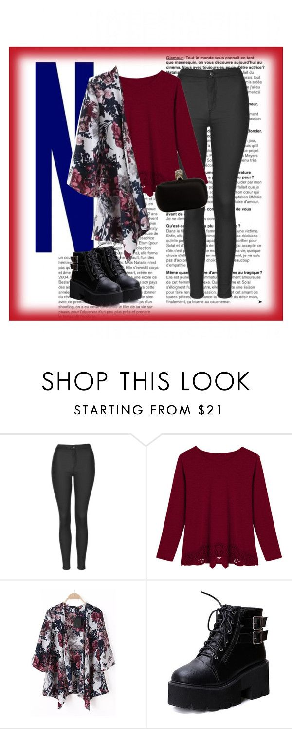 """Untitled #77"" by katherinegrecco ❤ liked on Polyvore featuring Topshop and Alexander McQueen"