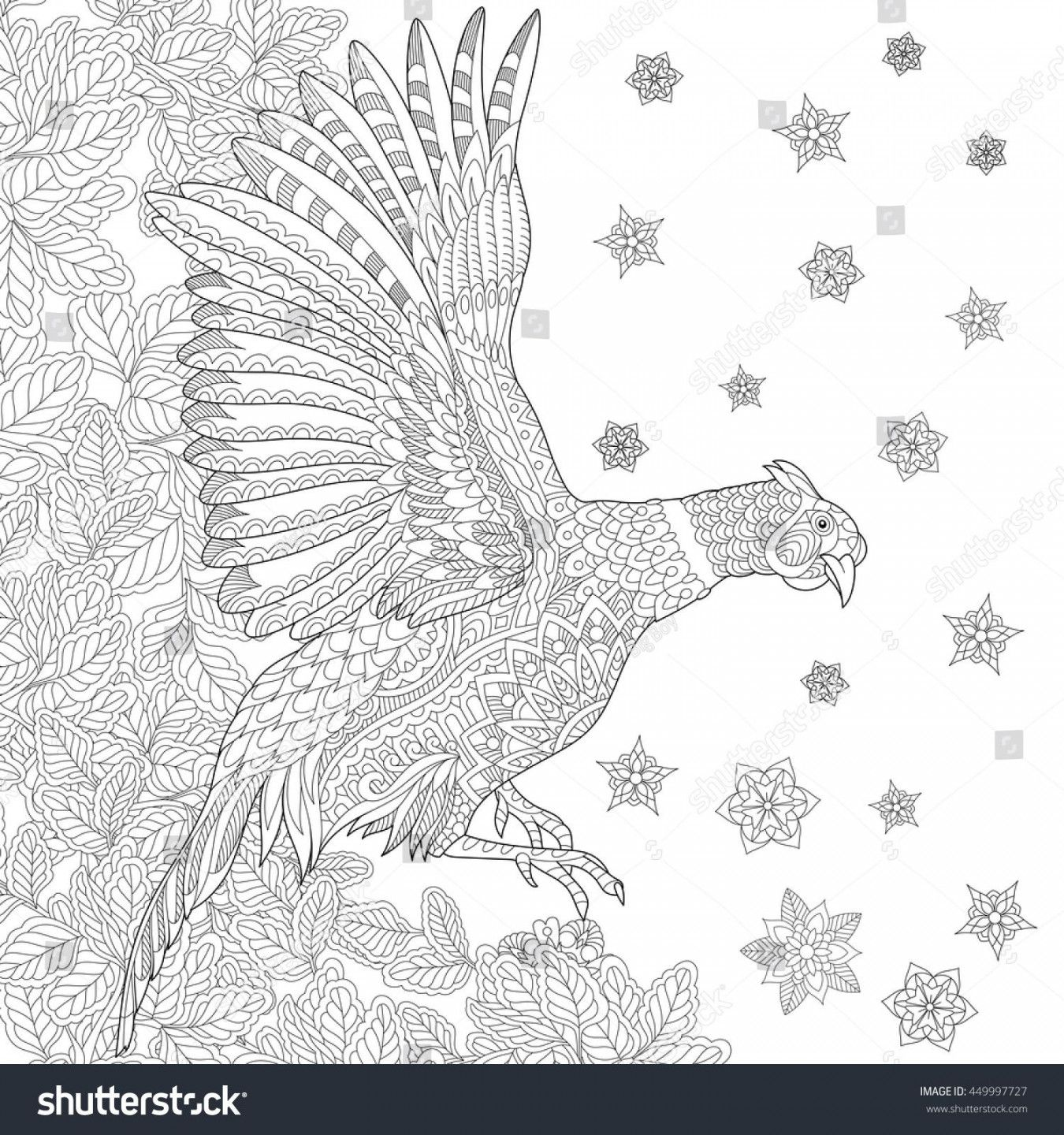 Phoenix Coloring Page Phoenix Coloring Pages Images Of Stock