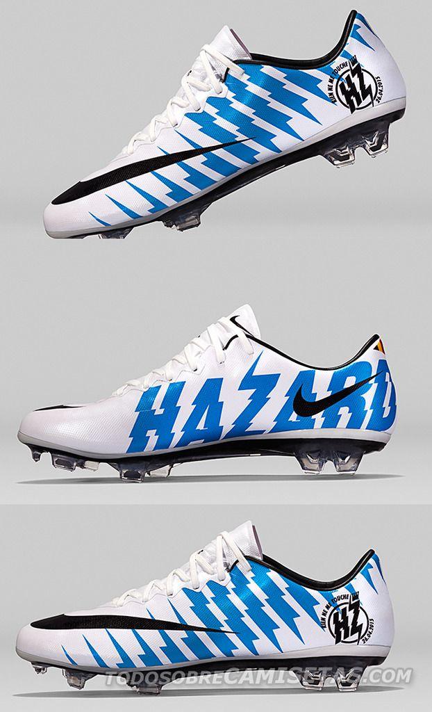 super popular 1869d b0988 Mercurial Vapor exclusivos de Eden Hazard   Todo Sobre Camisetas Niños  Futbol, Zapatos De Fútbol