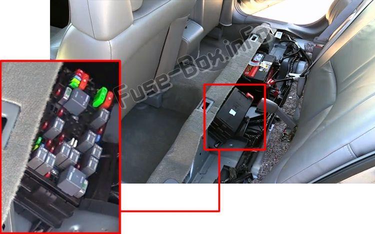 Buick LeSabre (2000-2005) < Fuse Box location | Buick lesabre, Fuse box,  Buick | 2004 Buick Lesabre Fuse Box Location |  | Pinterest