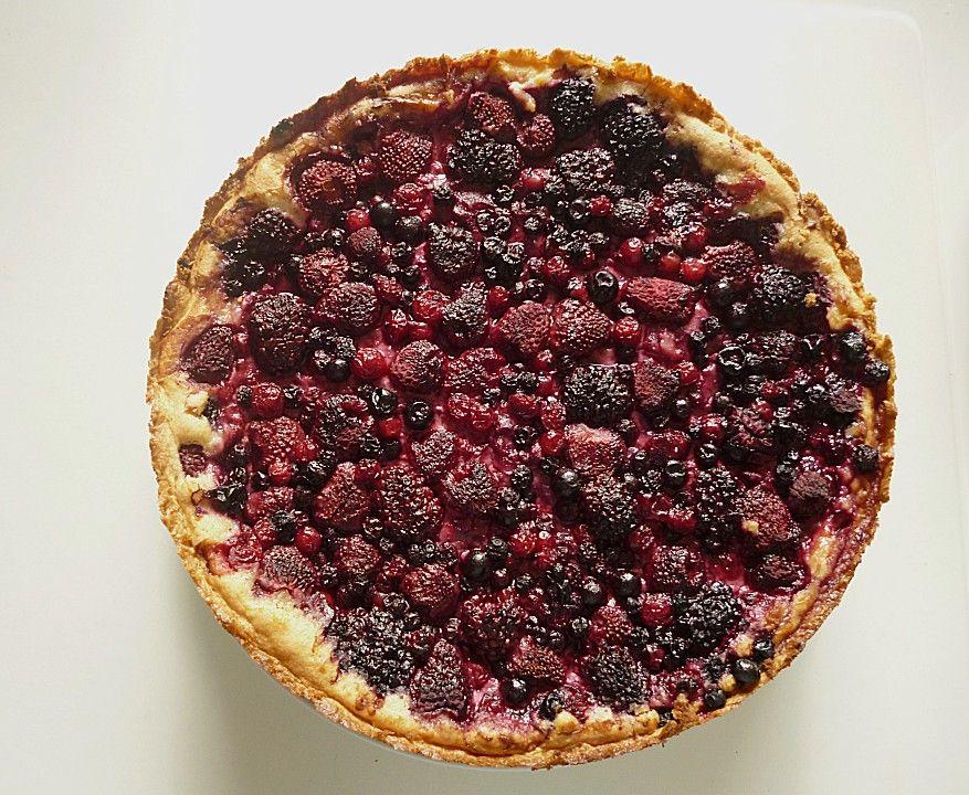 Fruchtiger Beeren Vanille Kuchen Rezepte Kuchen Und Desserts