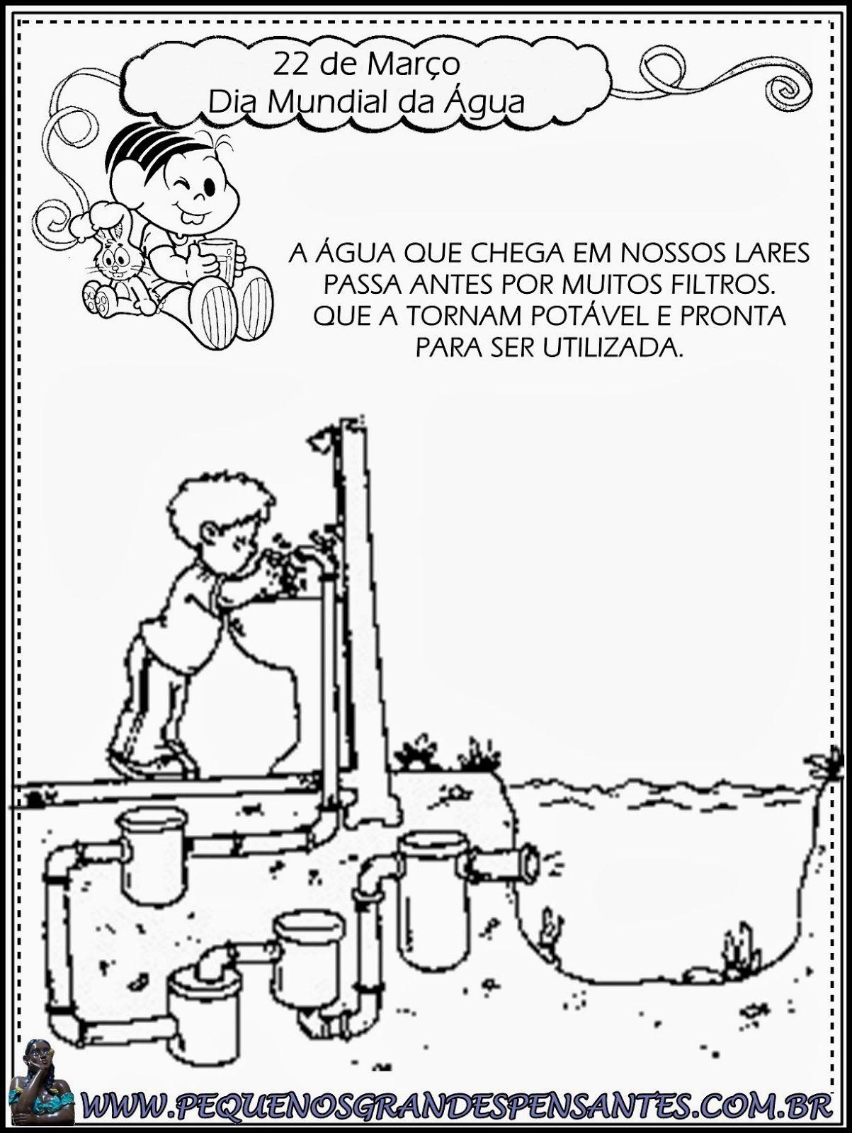 Atividades Para O Dia Mundial Da Agua Educacao Infantil Com