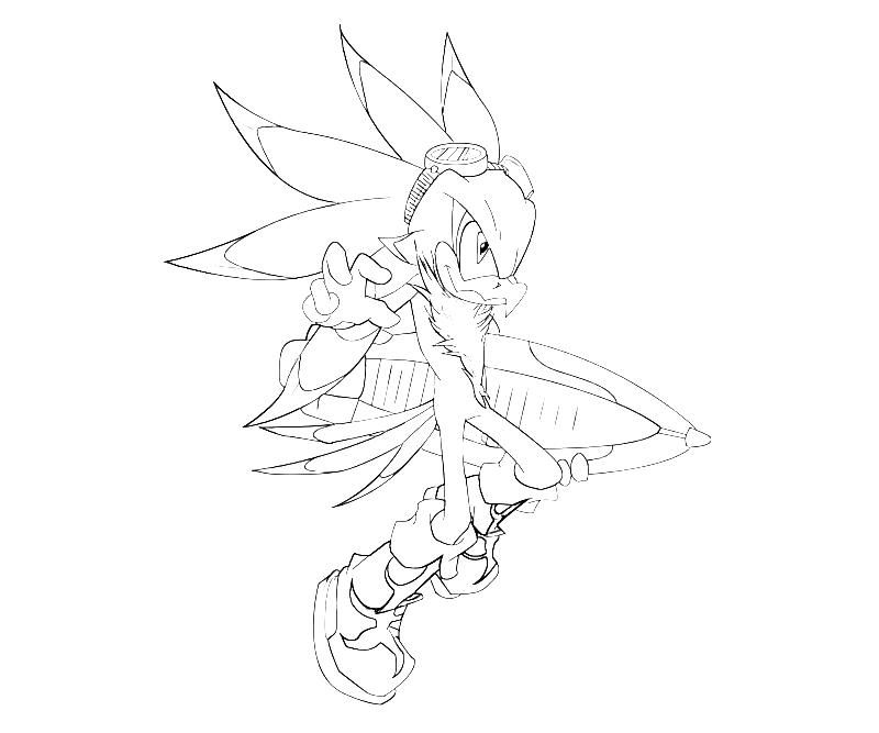 Sonic Generations Jet The Hawk Speed Sonic Generations Sonic Coloring Pages