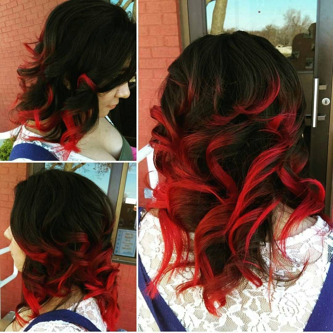 Hair Color Trends For 2021 Red Ombre Hairstyles Pretty Designs Hair Styles Ombre Hair Blonde Ombre Hair Color