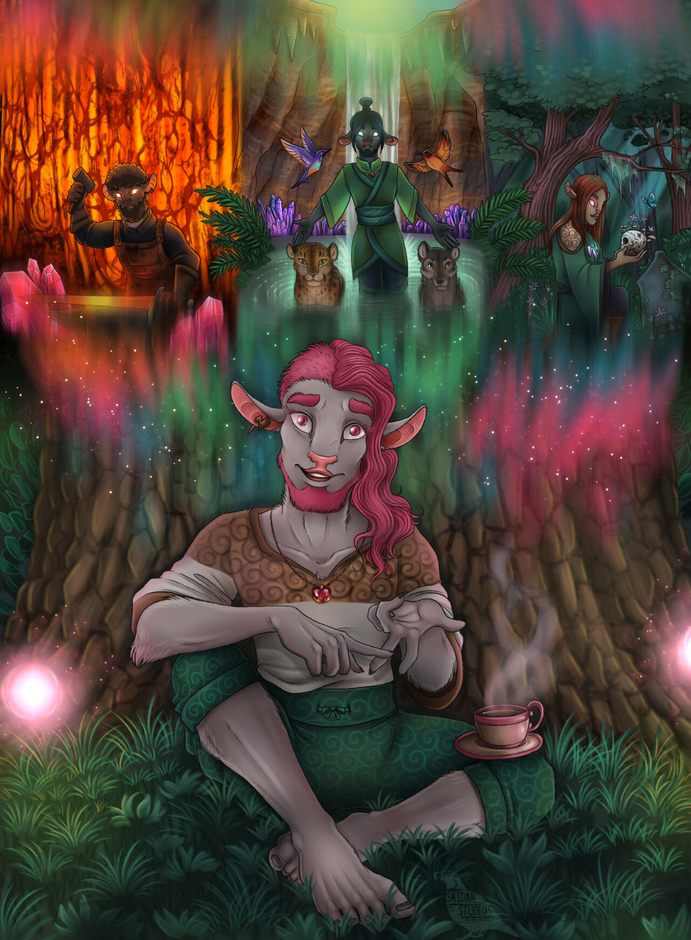 Fan Art Gallery Cold Comfort Critical Role Critical Role Fan Art Dungeons And Dragons