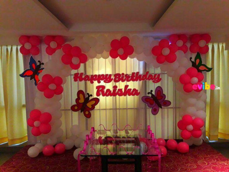 Butterfly Balloon Decoration Birthday Balloon Decorations