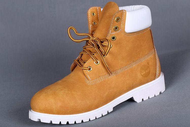 TIMBERLAND STUSSY MEN'S 6 INCH ZIP WHEAT WHITE,Fashion Winter Timberland  Women Boots