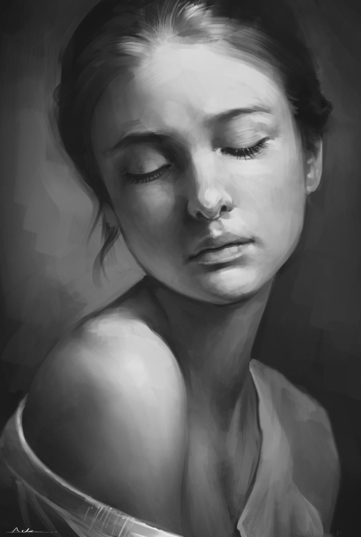 Portrait Practice 3 By Aarongriffinart Deviantart Com On